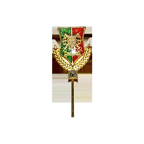 Emblema 25, 50, 70 anos p/ lapela
