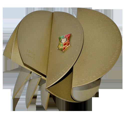 Medalha APE 75 anos com saco